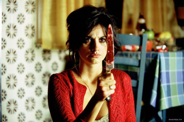 Penélope Cruz vo filme Volver.