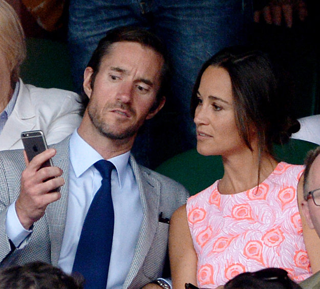 Pippa so snúbencom a budúcim manželom