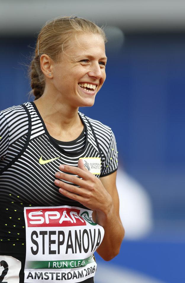 Povolenie štartovať dostala aj Julia Stepanovová.