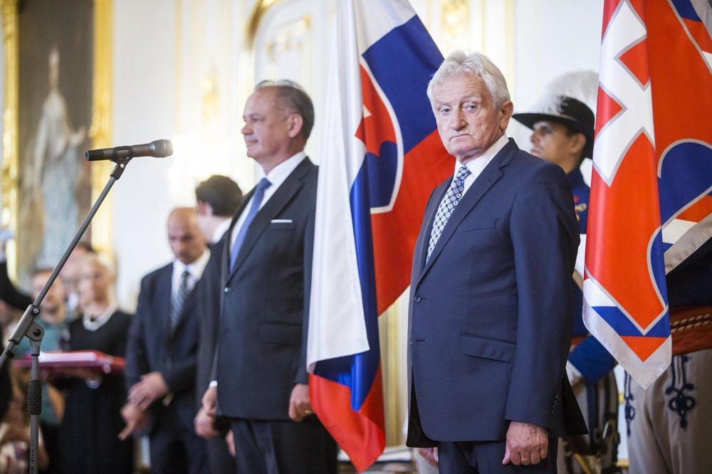 Prezident Slovenského olympijského výboru František Chmelár.