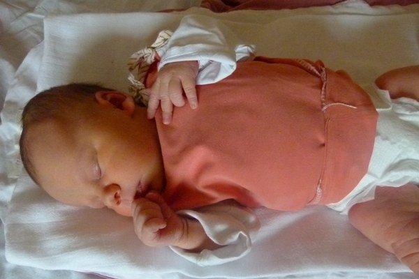 Prvé dieťa narodené v tomto roku v Levickom okrese.
