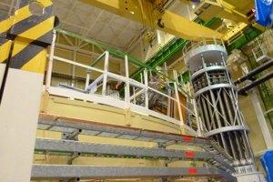 Reaktorová hala 3. bloku.
