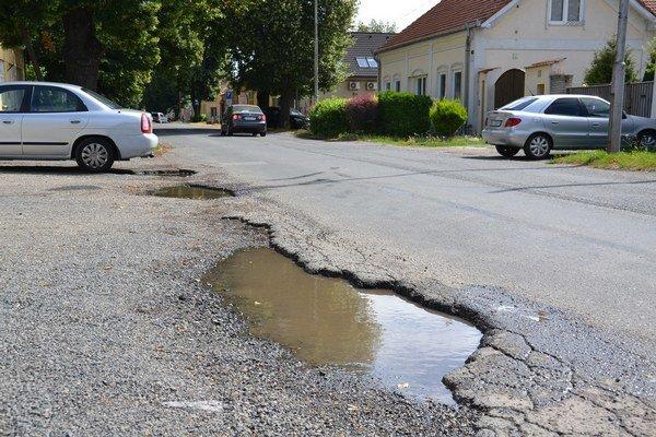 Ulica kpt. Nálepku bude z dôvodu opráv už o pár dní uzatvorená.
