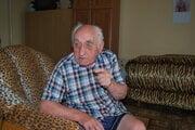 88-ročná futbalová legenda Anton Janžo.