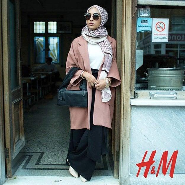Mariah Idrissi pre H&M