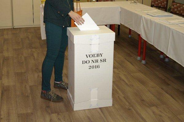 Volebný okrsok č. 22