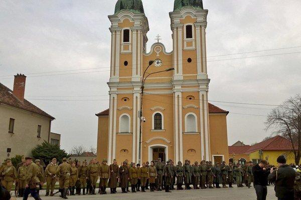 V Šuranoch si každoročne pripomenú oslobodenie mesta Červenou armádou