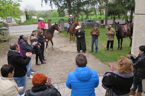 Slávnostné otvorenie jazdeckej sezóny v Hurbanove