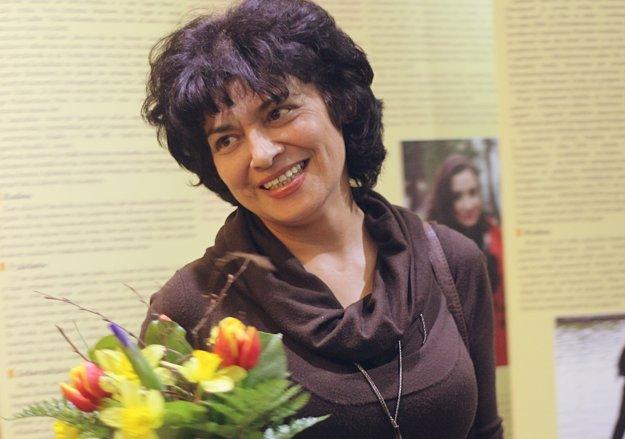 Spisovateľka a poetka Zdenka Mahajová.