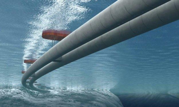Tunely majú visieť na pontónoch 20 až 30 metrov pod hladinou