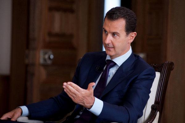 Sýrsky prezident Bašár Asad .