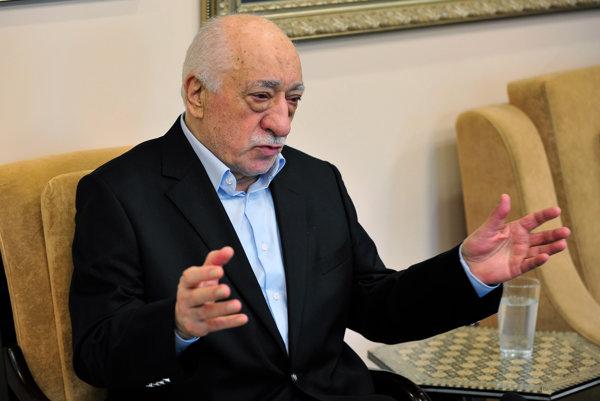 Islamský klerik Fethullah Gülen.