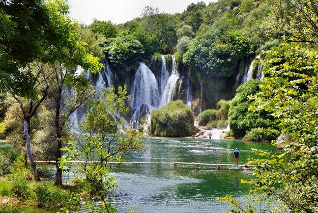 Vodopády Kravice