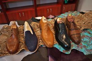 Ručne vyrábané topánky v slovenskej firme Barons.