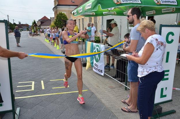 Najrýchlejšia žena a nová traťová rekordérka Lucia Janečková.