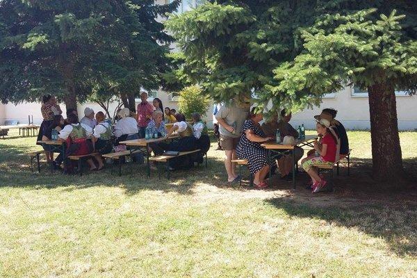 Podujatie Tri generácie v Modranke bolo prvé pripravené z komunitného rozpočtu.