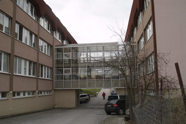 Nemocnica Rimavská Sobota.