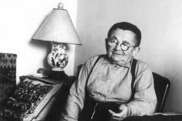 Veľký umelec. Lajoš báči ovplyvnil množstvo košických výtvarníkov.