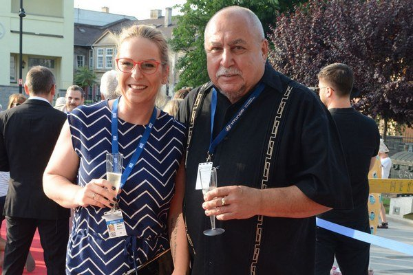 Wanda s otcom Andym. Pobyt v Košiciach si naplno užili.