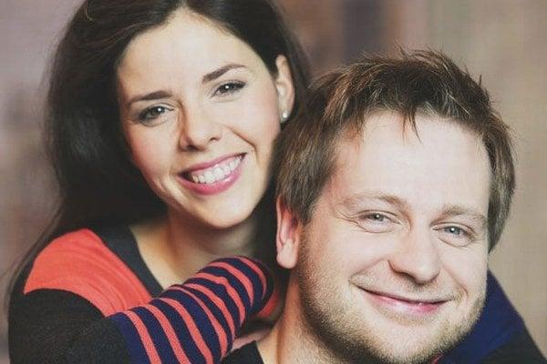 Šťastný párik. Ivana a Peter svadbu tajili pol roka.