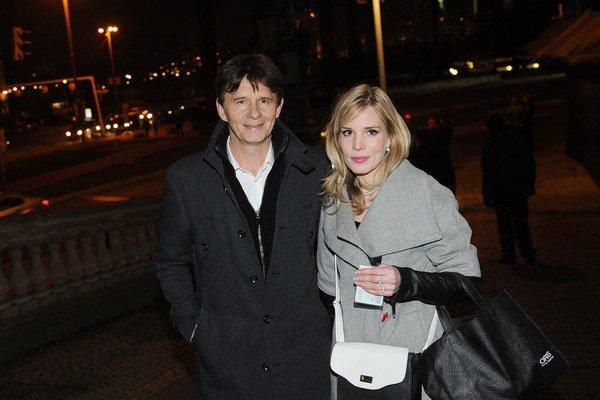 Jan Šťastný s manželkou Barborou. V láske im nezabránil ani veľký vekov rozdiel.