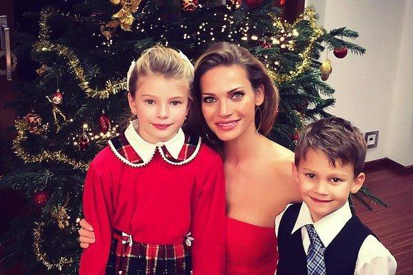 Vanessa a Daniel. Pre Andreu sú jej deti najvzácnejšími šperkami.