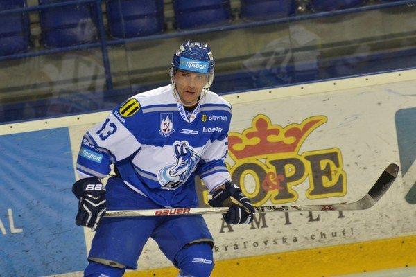 Víťazný gól Popradu strelil Arne Kroták.