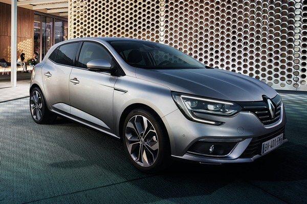 Renault Mégane štvrtej generácie. Nový Mégane má svetovú premiéru na práve prebiehajúcom autosalóne vo Frankfurte a na trh príde na budúci rok.