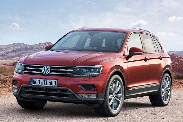 Volkswagen Tiguan druhej generácie. Na pohon nového modelu Tiguan je k dispozícii celkove osem motorov, ktoré pokrývajú výkonový rozsah od 85 kW do 176 kW.
