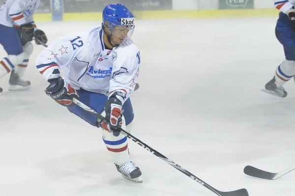 Trojnásobný najlepší hokejista Slovenska Peter Bondra.
