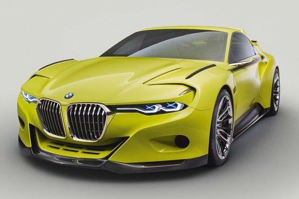 Štúdia BMW 3.0 CSL Hommage. Bavorská firma BMW predstavila túto štúdiu na súťaži krásy Concorso d'Eleganza Villa d'Este, ktorá sa každý rok koná pri jazere Como.