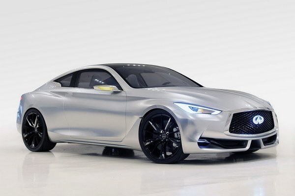 Štúdia Infiniti Q60. Štúdia mala premiéru v Detroite a je predzvesťou športového kupé, ktoré bude konkurovať najmä modelu BMW radu 4.