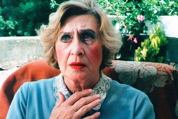Viera Strnisková. Diváci ju milovali pre jej nezameniteľný prejav.