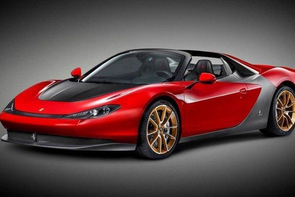 Nové Ferrari Sergio. Model Sergio je odvodený od rovnomennej štúdie, ktorú na počesť zosnulého Sergia Pininfarina zhotovila firma Ferrari.