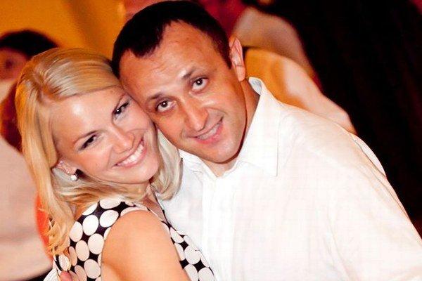 Ondrej Kandráč s manželkou Erikou.