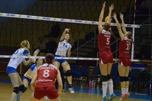 Jednoznačný priebeh. Spišiačky opäť doma suverénne porazili UKF Nitra 3:0.