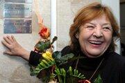 Jubilantka Eva Krížiková patrí k našim najobľúbenejším herečkám.