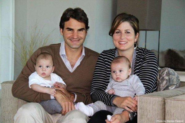Šťastní Federerovci.