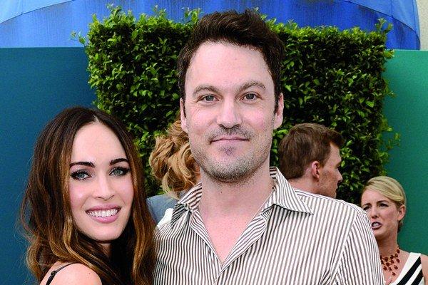 Megan Fox s manželom.