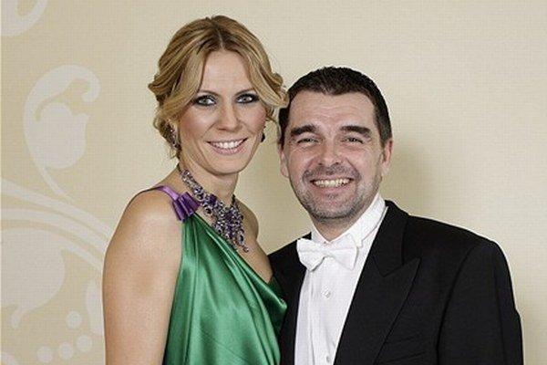 Peter s manželkou Nelou.