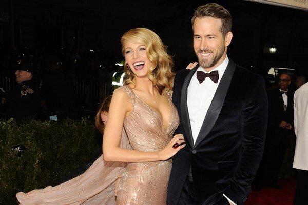 Blake Lively a Ryan Reynolds.