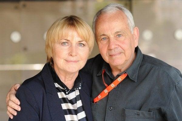 Eliška a Jan Balzerovci. Manželmi sú už 40 rokov.