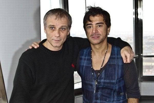 So Sagvanom Tofim pred dvoma rokmi. Už na prvý pohľad vidieť, že herec nevyzerá najlepšie.