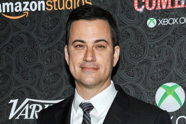 Moderátor Jimmy Kimmel.