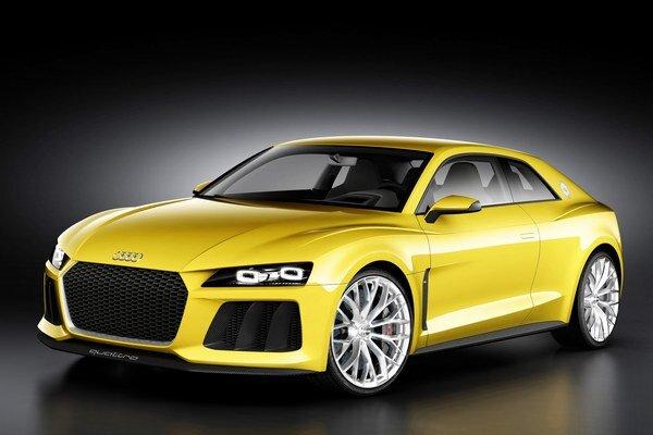 Štúdia Audi Sport quattro. Premiéru má na frankfurtskom autosalóne, kde pred 30 rokmi debutoval legendárny športový model Sport quattro.