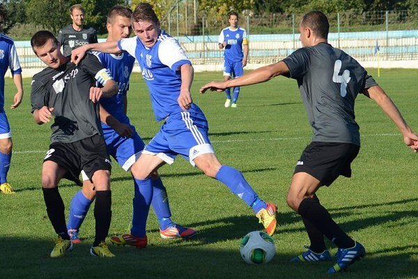 V Šali bez gólového korenia. Michalovčania brali bod za remízu 0:0.
