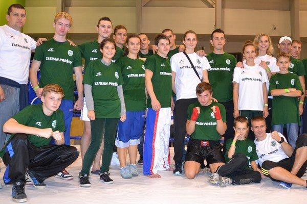 Košicko-prešovský tím. Na Tököl Cupe na predmestí Budapešti.