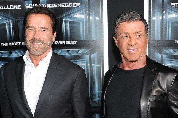 Medzi Sylvestrom Stallonem a Arnoldom Schwarzeneggerom vládla kedysi trpká rivalita.