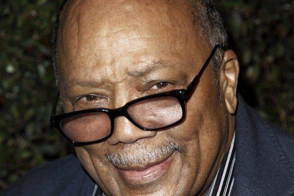 Quincy Jones. Producent Michaela Jacksona.