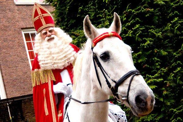 Holandský Sinterklaas.